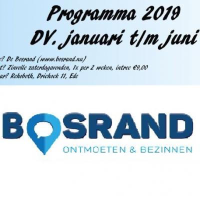 Programma voorjaar 2019: Hartelijk welkom!