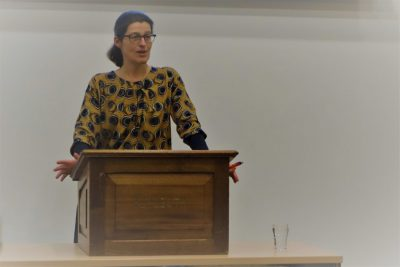 Foto's lezing Rineke Heij (NPV) over Ethische vragen bij medische mogelijkheden (9 februari 2019)