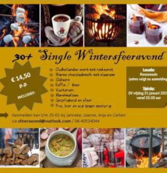 30+ Single Wintersfeeravond op 31 januari