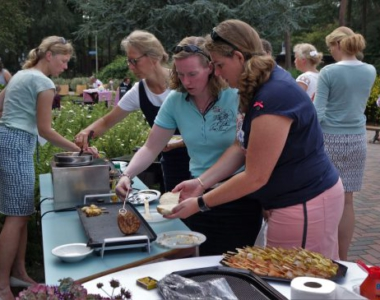 "26-08-2017 BBQ en Lezing ""Freedom is not for free"" (generaal b.d. A. T. Vermeij)"