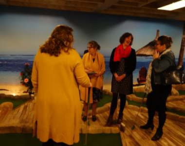 11-01-2020 Indoor minigolf Ede