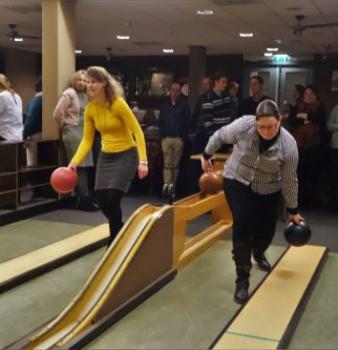 Foto's 13 januari 2018 – Kegelen en bowlen in de Veluwehal