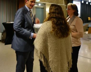09-01-2016 – Walking Dinner – Burgemeester van Veenendaal