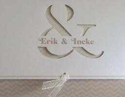 Huwelijk Ineke Siebelink en Erik van den Top